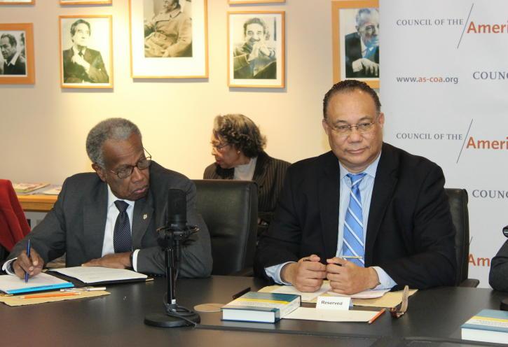 Sir George Alleyne & Amb Bernal