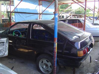 Motor Sports Ae86 Race Car A Jamaica Gleaner Blog