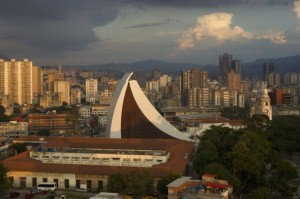 Simon Bolivar's final resting place in Caracas: A mausoleum that some have compared to a skateboard ramp. (Photo: Reuters)