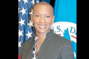 Ms. Claudia Gordon is a Jamaican-born deaf woman and attorney. She was appointed Associate Director in the White House Office of Public Engagement last year.