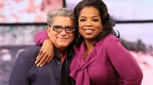Dr. Deepak Chopra and Oprah Winfrey… They're quite a combination. (Photo: oprah.com)
