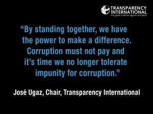 A final word from Mr. Ugaz.