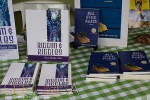 """Owen """"Blakka"""" Ellis' book """"Riddim and Riddles"""" (BluMoon Publishing)."""