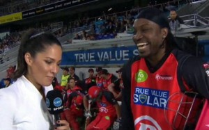 Christopher Gayle found his own sexist remarks to a reporter amusing. She did not feel the same way.