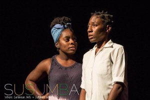 "Veronique Smith (left) and Julene Robinson in Brian Johnson's ""Bullying."" (Photo: susumba.com)"