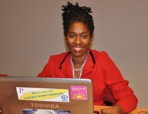 Indi McLymont Lafayette of Panos Caribbean. (Photo: Caribbean News Service)