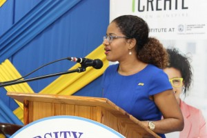 """eMedia Interactive Director Sheree Martin: """"We are looking at the jobs of the future."""" (Photo: UCC/Facebook)"""