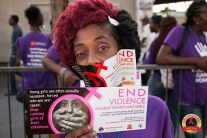 Violence Against Women and Girls - and especially those who are deaf - is a huge risk factor in the context of HIV and AIDS. The UN Trust Fund supports a JASL program to bring awareness of this issue. (Photo: JASL)