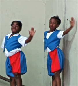 Kingston vibes: A children's dance competition organized by Kofi Walker. (My photo)