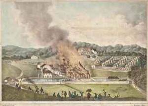 The Christmas Rebellion began on the Kensington Estate in St. James in 1831.