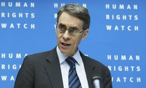 Kenneth Roth of Human Rights Watch.