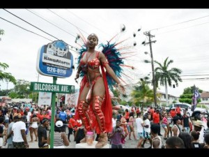"A revealer from the Xaymaca band is up on a pedestal here. Oh, hold on... doesn't Xaymaca mean ""Jamaica""? (Photo: Ricardo Makyn/Gleaner)"