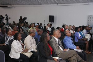 A full house at the #LoudItUp forum on corruption on Monday evening.