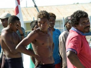 Some of the dozens of Hondurans who were nabbed for illegal fishing in Jamaican waters in 2010. There was a shooting incident between the JDF Coastguard and Honduran fishers at the time. - Ricardo Makyn/Staff Photographer/Gleaner