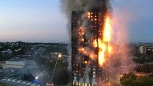 The terrible fire at Grenfell Tower has sparked anger and resentment among those who feel neglected and ignored in UK society. (Photo: AFP)