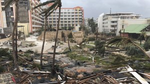 Damage in St. Martin. (Photo: Jonathan Falwell/AP)