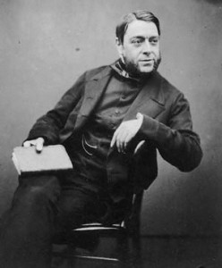 Philip Henry Gosse, 1855. (Image: By Maull & Polybank - Oxford Dictionary of National Biography, Public Domain)