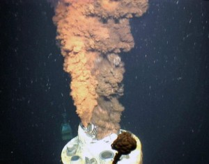the Deepwater Horizon oil rig explosion and oil spill in the Gulf of Mexico that took the lives of 11 people and caused the discharge of an estimated 4.9 million barrels of oil into the Gulf resulting in the largest environmental disaster in U.S. history. (Photo: U.S. Geological Survey via WHOI)