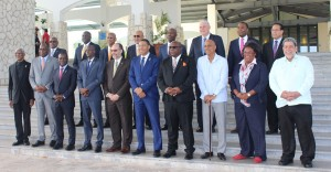 The final photo op in Montego Bay. (Photo: CARICOM)