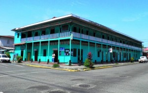 "The ""Black Star Line"" Liberty Hall in Puerto LImon, Costa Rica, was built in 1922. (Photo: elmundo.cr)"