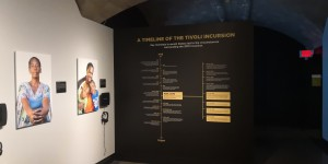 The exhibit on Tivoli Gardens in the Penn Museum, USA. (Photo: Twitter)