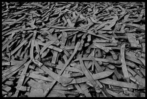 Machetes were the weapon  of choice in the Rwandan genocide. Those who died will bear the physical and mental scars forever.