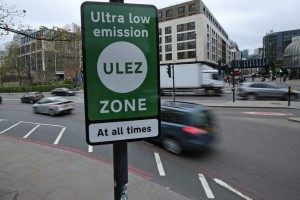 The Mayor has started an Ultra Low Emission Zone (ULEZ) in London recently. But protesters are a bit of a nuisance!