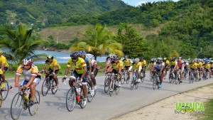 The cool cyclists: the Kingston to Negril Charity Ride.