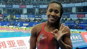 Olympian swimmer Alia Atkinson will be inducted into the Texas A&M University Hall of Fame on September 18. (Photo: Sportsmax)