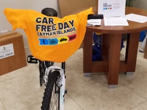 Car Free Day in the Cayman Islands. (Photo: Cayman News Service)