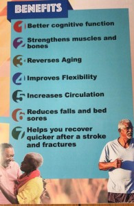 The benefits of exercise for older Jamaicans, from the new Ministry booklet.