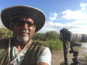 The potential of eco-tourism: Jamaican birders on World Wetlands Day earlier this month. (Photo: BirdLife Jamaica)