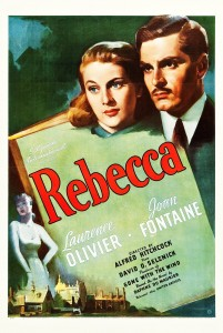"""Rebecca"" is based on the book by Daphne du Maurier of the same name - a classic mystery/romance. Indulge! It's on YouTube."